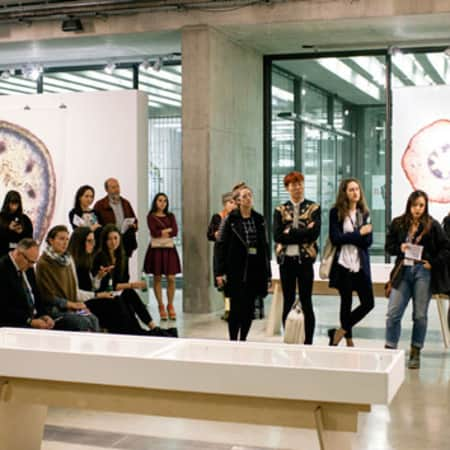 Mi Pattern Exhibition Opening at CSM's Lethaby Gallery (Photographer Marco Kesseler)