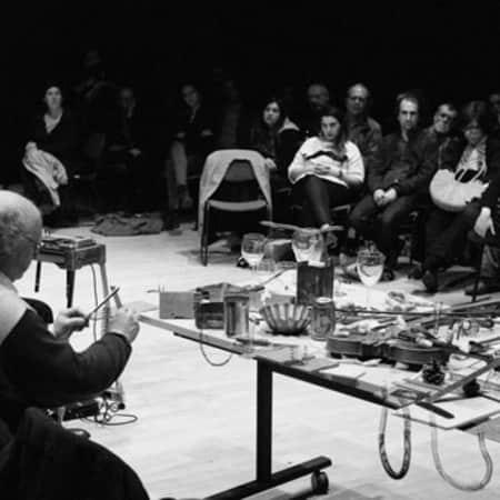 David Toop Offering Rites, Sculpture 3 event (Photographer Fabio Lugaro)