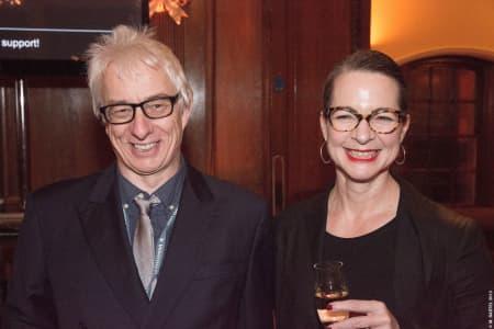 George Blacklock and Professor Frances Corner. © M Bastel 2013