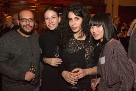 Guests at the Benefactors' Reception © M Bastel 2013