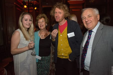 Jacqueline Guestetner, Grayson Perry and Jonathan Gestetner