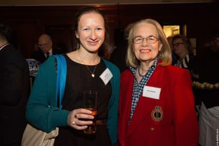 Judith Kerr and Gray Standen © M Bastel 2013