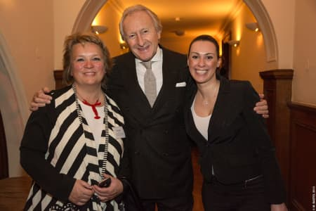Karen Doyle, Harold Tillman and guest © M Bastel 2013