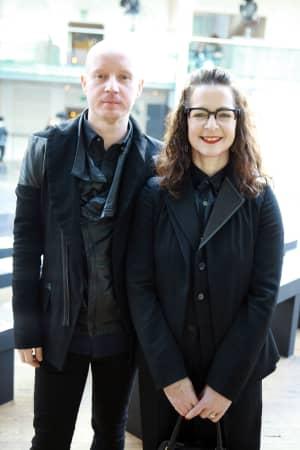 FROW: Lee Lapthorne and Frances Corner