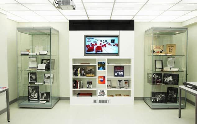 Search room, University Archives and Special Collections Centre, London College of Communication (LCC)