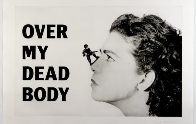 Over my Dead Body by Mona Hatoum