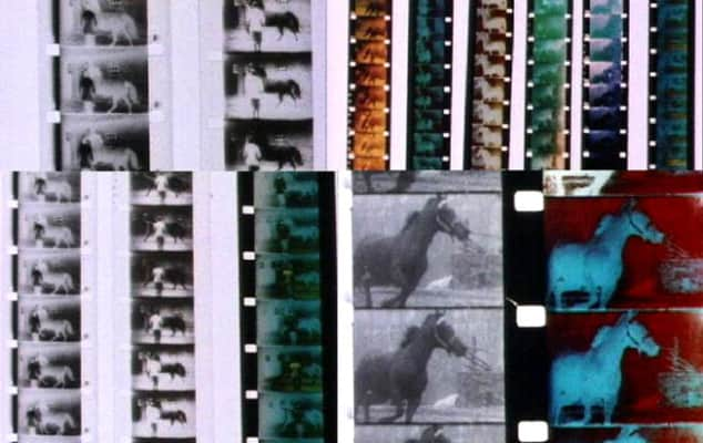 Strips from Berlin Horse, Malcolm Le Grice, 1970