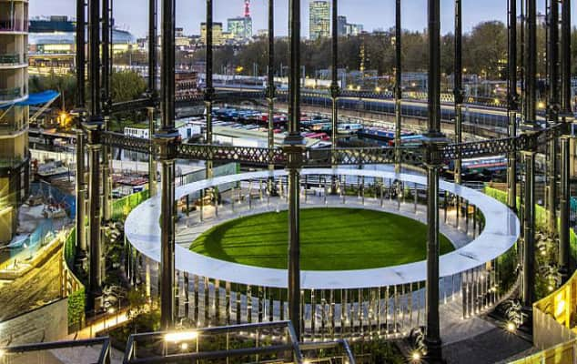 Image of Gasholder Park, London