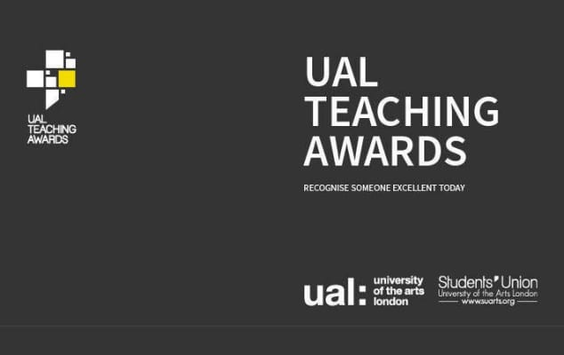 UAL Teaching Awards poster
