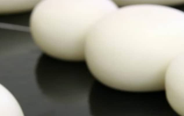 Image of Eggs on dark surface