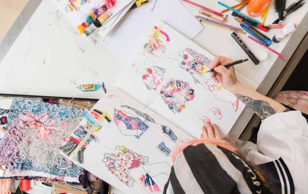 Florence Rochon-Lamy, BA (Hons) Fashion: Fashion Design with Knitwear, CSM
