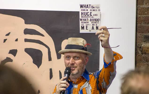 Bob and Roberta Smith at Origins