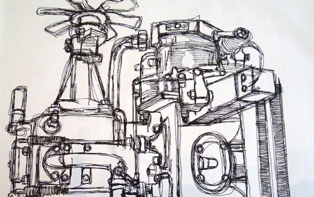 Image of work by Matilda Scandret.