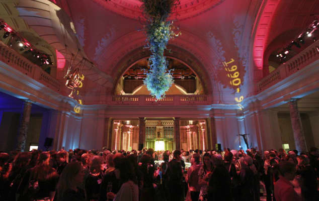LCF reunion event at the V&A