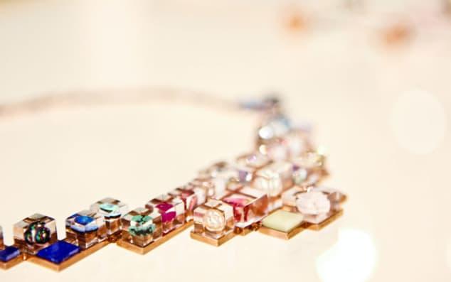 Work by Ann Mercer, CSM BA Jewellery