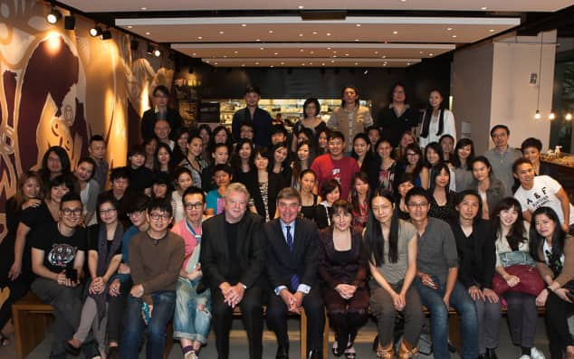 Group image of guests at the Taiwan Alumni Event