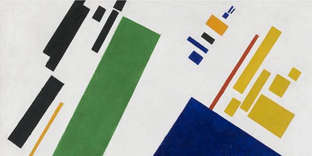Suprematist Composition - Kazimir Malevich