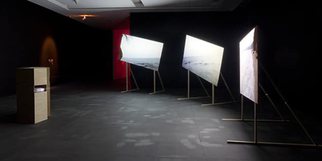 Martin Newth - Red Point installation