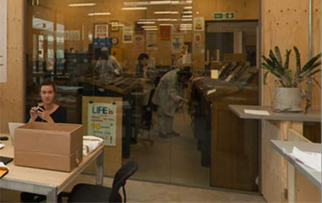Image of a digital access print workshop