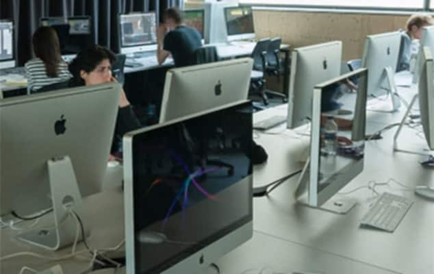 Image of a web and creative coding workshop