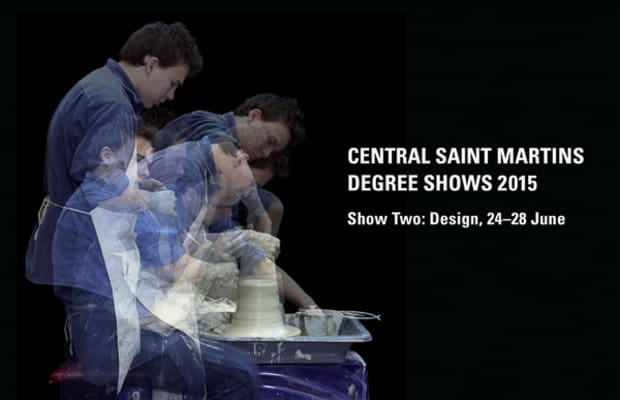 Central Saint Martins Degree Shows 2015 Show Two: Design, 24-28 June