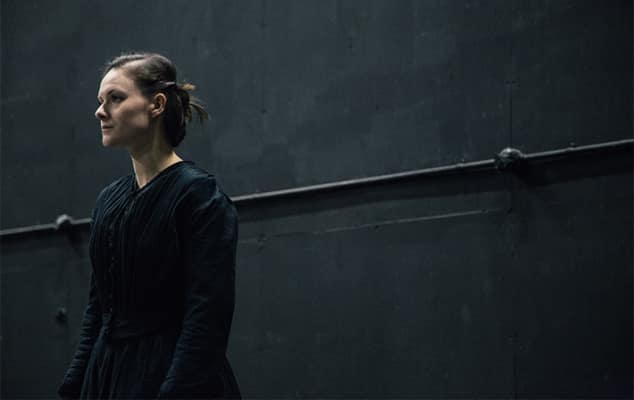 Lily Knight (BA Acting, 2016) as Therese in 'Therese Raquin' by Emile Zola, directed by Sebastian Harcombe at Drama Centre London, November 2015