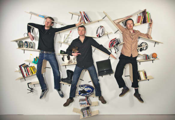 Brothers Shelf Portrait 2012 © Darragh Casey, MA Design Furniture pathway