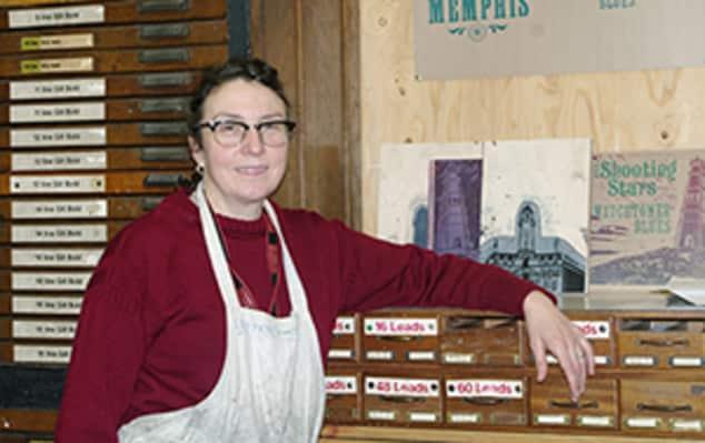 Helen Ingham, Technician, Letterpress