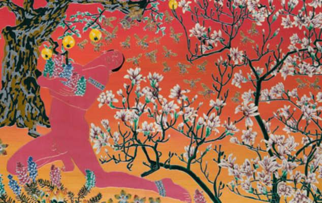 Raqib Shaw painting