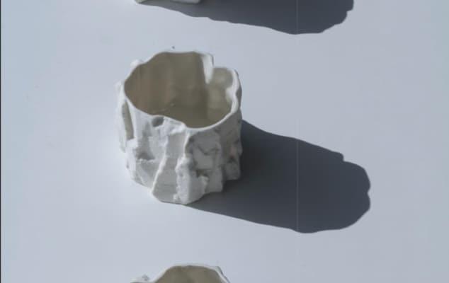 Three ceramic objects