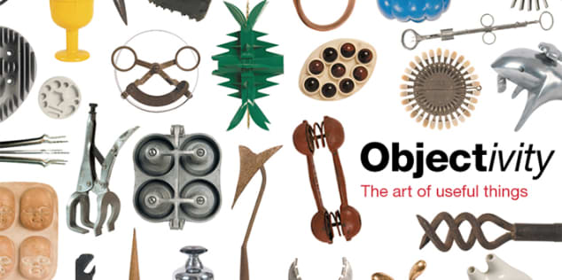 A collage of objects from David Usborne's collection