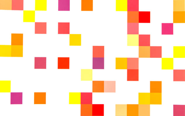 Digital Design & Media Software Training - Bespoke training courses for professional development in the creative industries at London College of Communication - Image of geometric shapes in bright colours