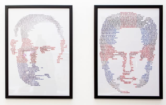 PR, media, publishing and Journalism courses London College of Communication - image showing an illustration of two politicians in a frame