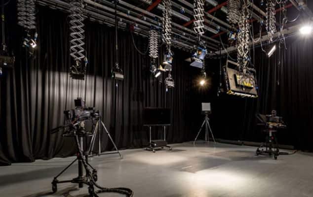 Photographic studio at LCC