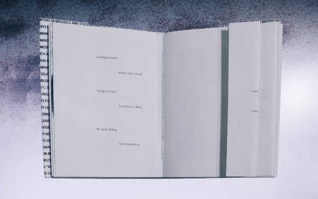 Image of an open sketchbook