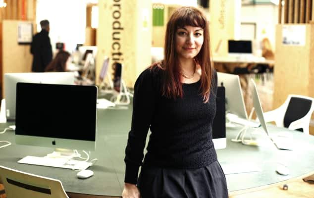 Photograph: Portrait of Esmeralda Munoz-Torrero, creative technology technician