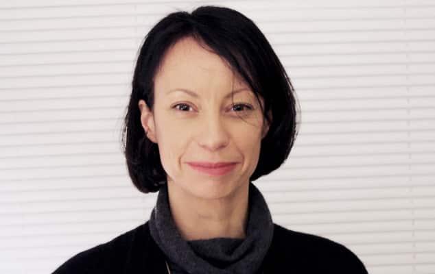 Photograph: Portrait of Valerie Mace, Course Leader for BA (Hons) Spatial Design