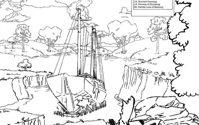 Jonathan Kelham - Island (detail), 2014