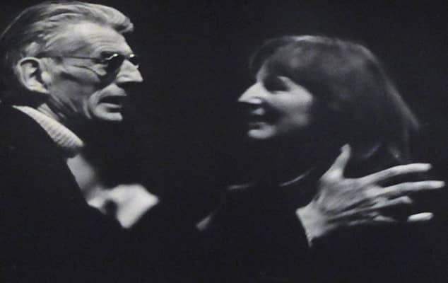 Jocelyn Herbert and Samuel Beckett.