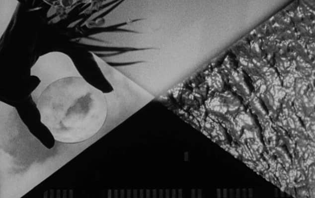 Invisible Dialogue, still from collaborative 16mm film by Karel Doing, Rosalind Fowler, James Holcombe and Emilie Atkinson.