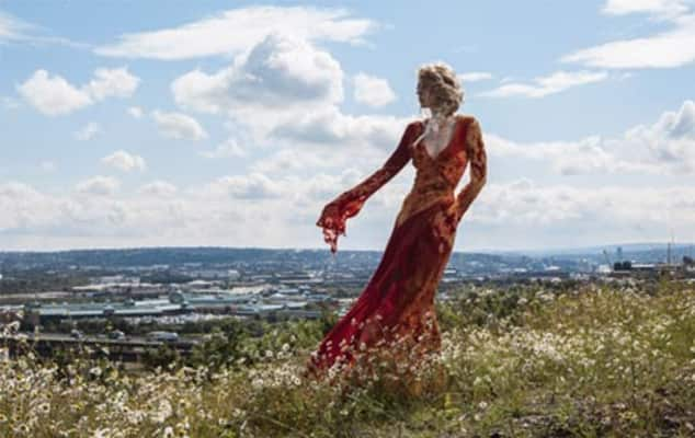 Red Planet Dress, Shaun Bloodworth and Meadowhall's October Fashion Month, Unless otherwise stated © Storey, Helen and Ryan, Tony
