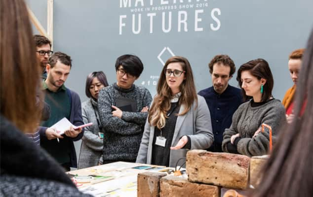 Students at Material Futures Show