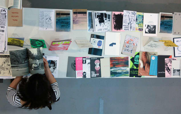 Zineview: A Pop-up Reading Room, The Well Gallery, London College of Communication