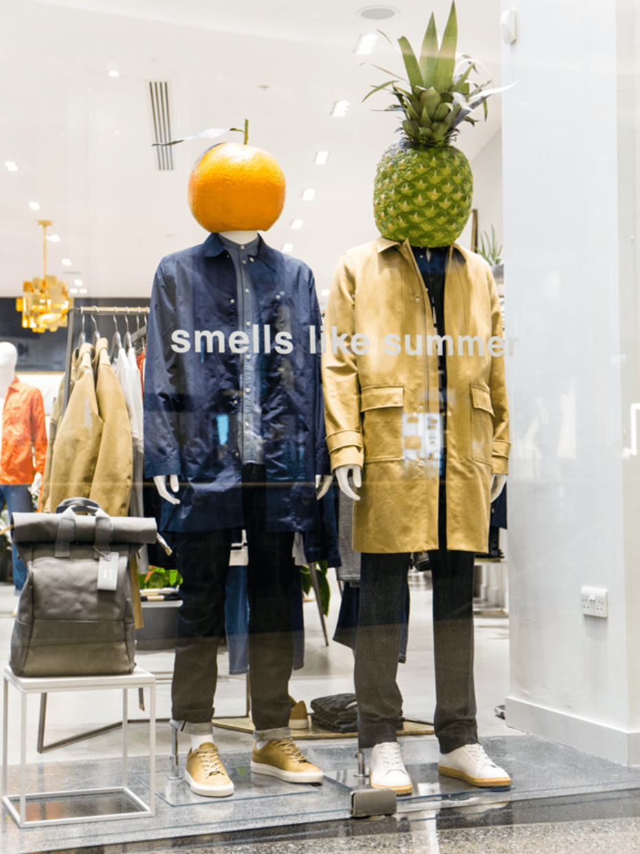 Whistles window display project london college of - Visual merchandising head office jobs ...