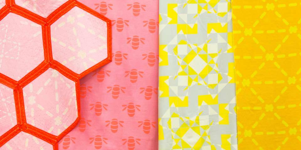 Bee Line, Victoria Umansky, BA Textile Design. Photo: John Sturrock
