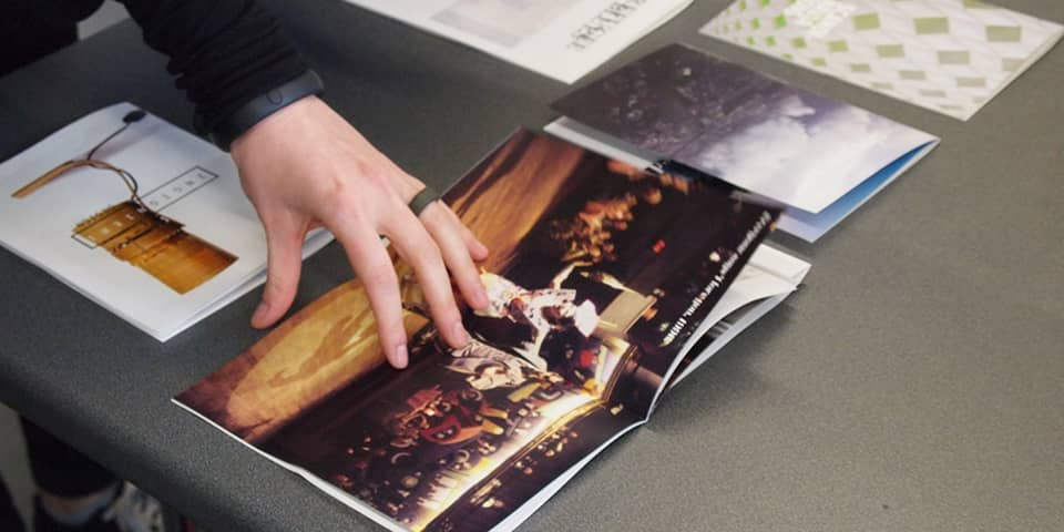 MA Publishing, Make a Mag workshop shows visiting students how to self-publish in an afternoon