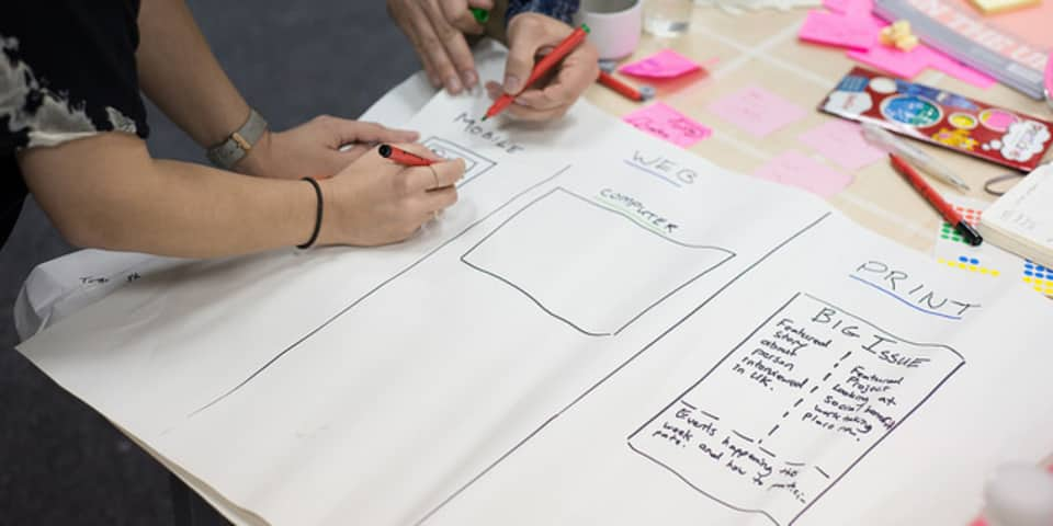 Service Design and Innovation Intensive Short Courses at London College of Communication - Image of Service Design and Innovation Intensive: Prototyping multiplatform service innovations