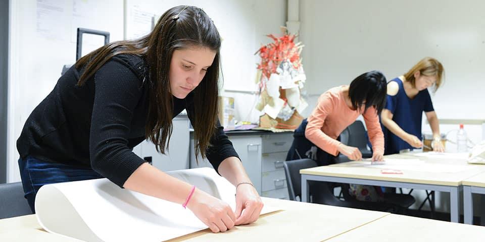 Creative Bookbinding classroom