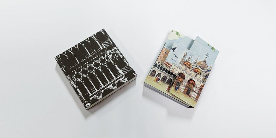 two handmade books