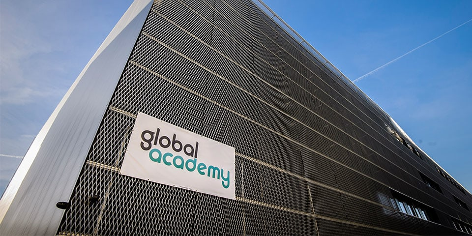 LCC Short Courses delivered with Global Academy - image of the Global Academy building from outside